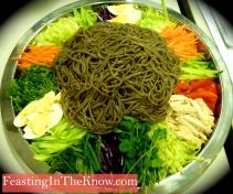 "Chengpan Gooksu - Korean ""platter noodle"" salad"