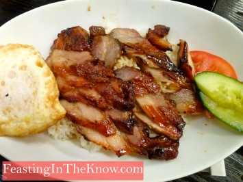 Chargrilled Char siew fan (barbecued pork rice)