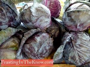 Dark cabbages