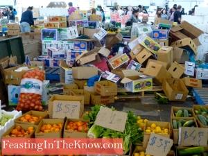 Flemington market scene