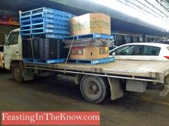 Truck at Flemington market
