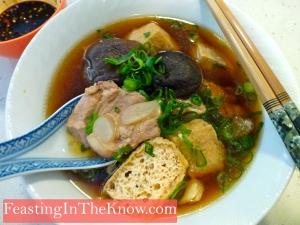 Bak kut teh (herbal pork rib broth)
