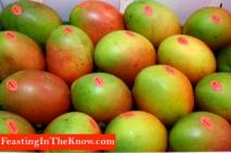 Mangoes market produce