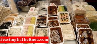 Sweet Korean rice cakes.