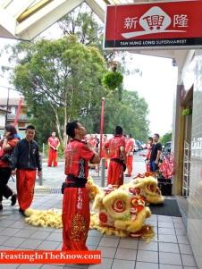 Chinese lion dance prep 3