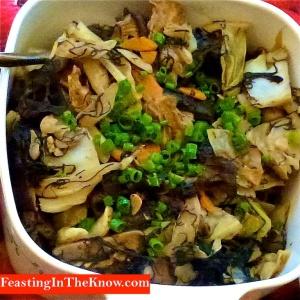Luo Han Zai - auspicious vegetarian dish