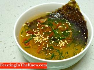 Omega 3 miso soup