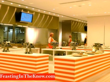 Instant ramen workshop in Cupnoodles Museum, Yokohama, Japan