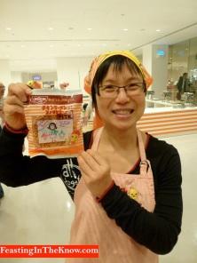 I made it myself! nstant ramen workshop in Cupnoodles Museum, Yokohama, Japan