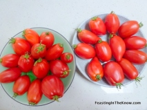 Johnny's Love Hearts tomatoes. Best-tasting ever!