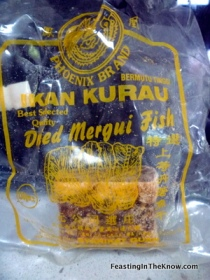 Dried perserved salted fish