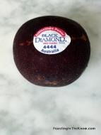 Black Diamond plum. Sweetness in every bite.