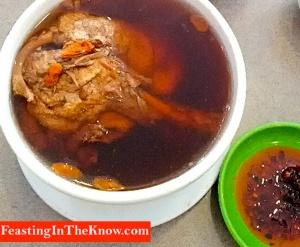 herbal duck soup