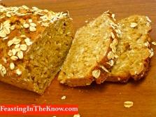Honey oat soda bread 1