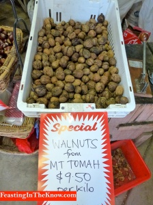 Fresh walnuts Mt Tomah