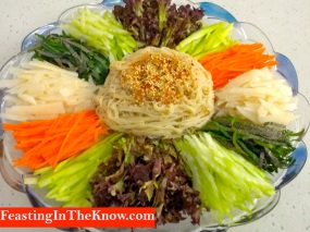 Korean noodle salad