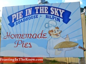 Pie in the sky sign with kid 1