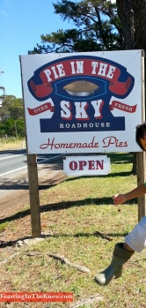 Pie in the Sky sign with kid 2