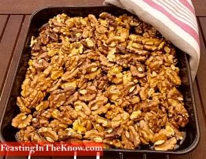 toasted walnuts tray 1