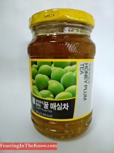 Korean honey plum tea