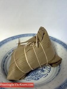 Shanghai sticky rice dumpling