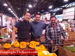 3 guys at Sydney Markets