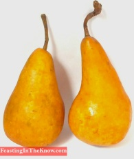 beurre bosc pear brown pear fruit market produce