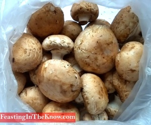 swiss brown mushrooms vegetable market produce