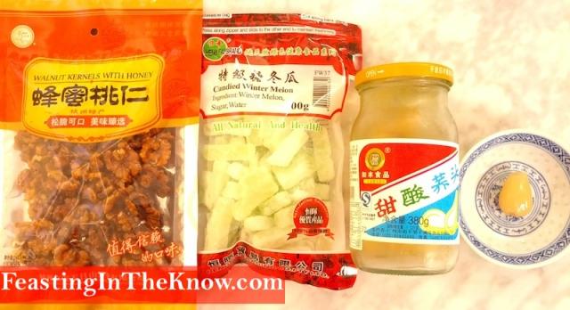 honey walnuts yusheng recipe